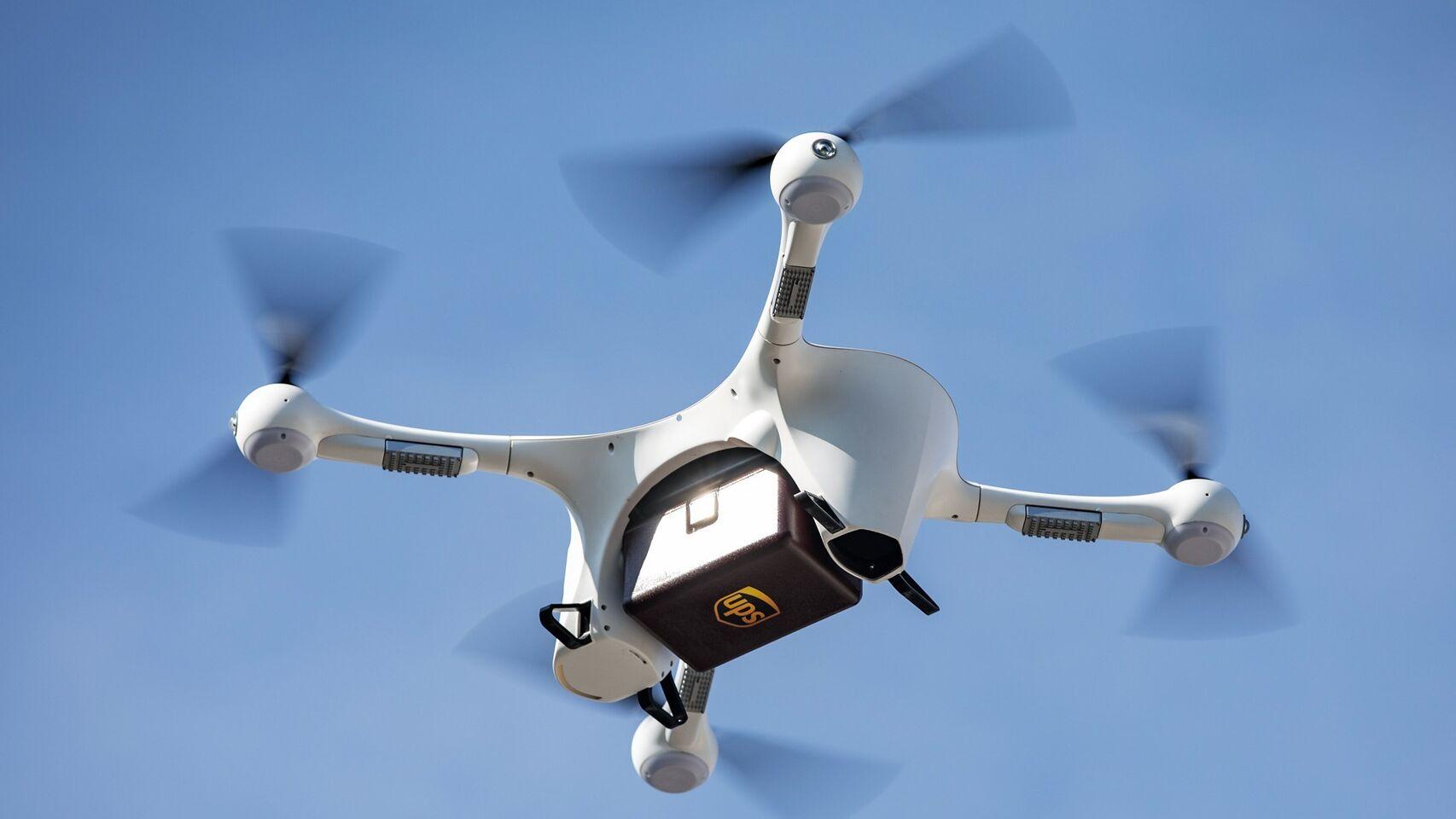 UPS_drones Post Covid